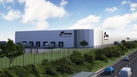 Vantec Distribution Centre in Sunderland