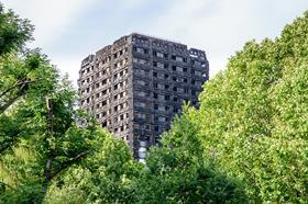 Grendfell Tower the day after fire
