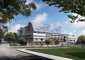The new Midland Metropolitan Hospital by HKS, Edward Williams Architects and Sonnemann Toon