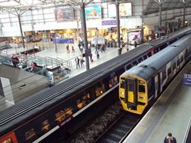 Leeds train station