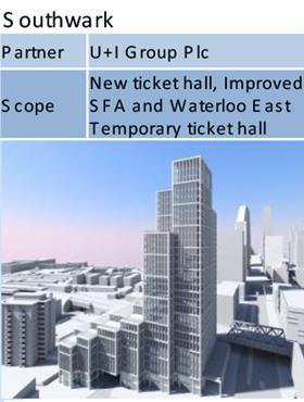 An illustration of what could be built above MJP's Southwark Tube station