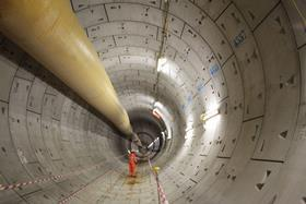 Crossrail - first completed tunnel