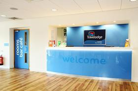 Travelodge kew reception