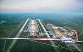 Farrell's London - Gatwick airport with second runway