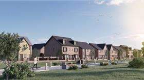 Cgi of proposed new anfield houses by keepmoat homes