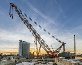 Earls Court crane