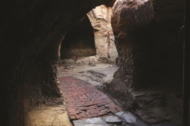 Cave interior from north looking south