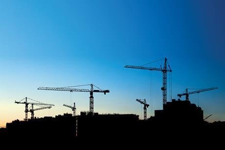Crane silhouettes