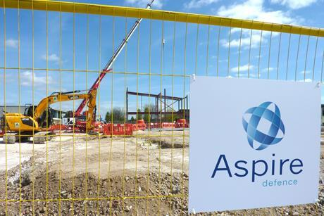 Aspire defence capital works