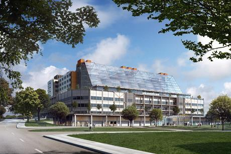 The new Midland Metropolitan Hospital by HKS, Edward Williams Architects and Sonnemann Toon