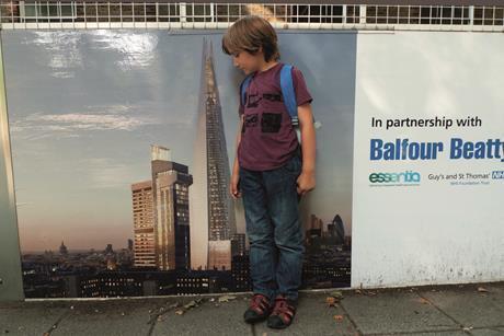 Balfour beatty and boy alamy dcjexk