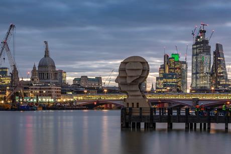 London Design Festival Head above waterLR_U4A9524