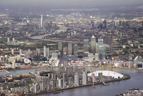 Greenwich Aerial