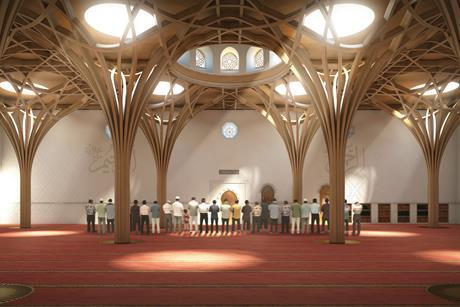 Prayer hall cgi