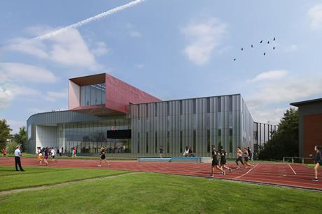 Sheppard Robson's Carnegie Teaching and Research Building, earmarked for Leeds Beckett University's Headingley Campus