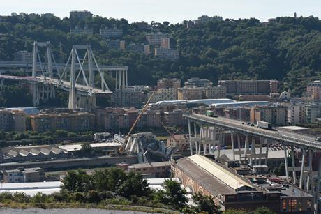 Genoa Bridge shutterstock