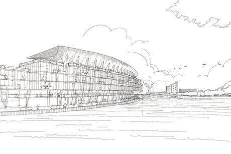 Fulham riverside stand populous