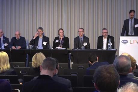London debate at Building Live