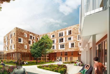NW Cambridge Lot 3: key-worker homes designed by Mecanoo