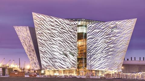 The Titanic Belfast The Ship Comes Home Features Building