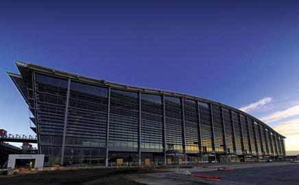 All quiet at T5: Ferrovial escaped the worst of the crash