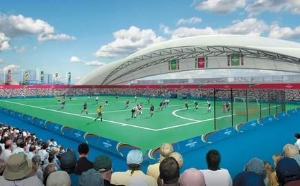 Work for 2012 will include the Olympic hockey centre