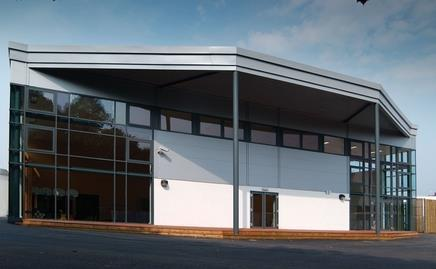Harrowgate Hill primary school in Darlington, one of the PFI projects completed by SES