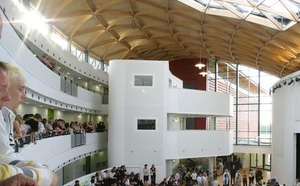 BDP's Marlowe academy in Ramsgate, Kent: Most turnover is generated in the UK