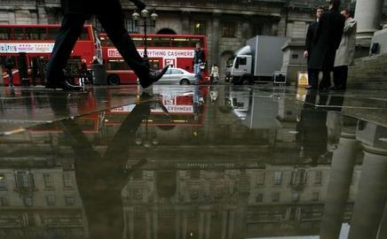 Rainy days: the Bank of England says commercial property is a serious risk