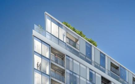 Telford's Adagio Apartments in Greenwich, London