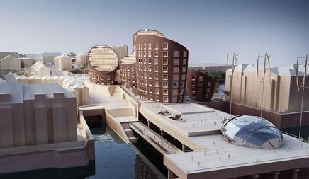 Clifton Wharf, a riverside regeneration project in Gravesend, Kent