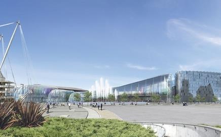 The casino that never was: Ian Simpson's original Manchester masterplan