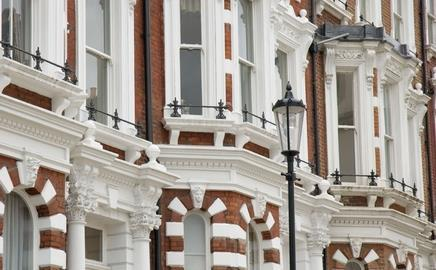 House prices in Kensington & Chelsea are among the highest in the country