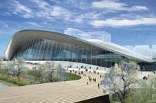 Zaha Hadid's Olympic aquatics centre