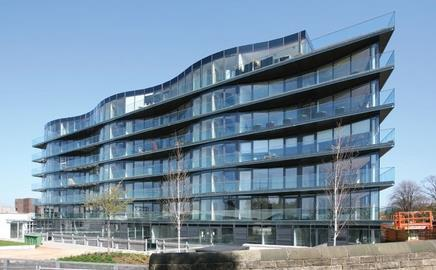 Contractor YOR has completed a £12m project to transform the Croythorn House office block in Edinburgh into apartments