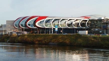Ron Arad Associates' Médiacité shopping and entertainment centre in Liège, Belgium, has opened to the public