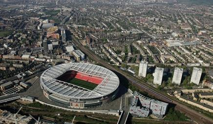 The Emirates stadium in north London was to have been the centrepiece of a larger regeneration project, before it fell foul of local politics …