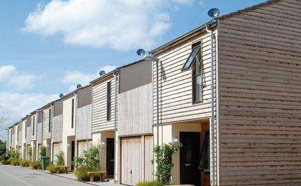 """Cabe has called Lime Tree Square in Street, Somerset, """"among the best housing designed this century."""""""