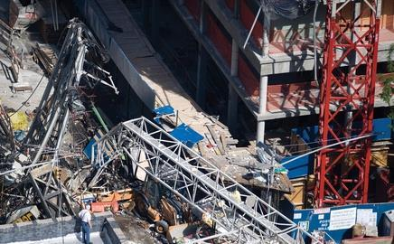 Last Friday's accident, on a construction site on the Upper East Side of Manhattan, killed two workers