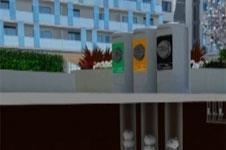 Envac's portals at Wembley City recycling system