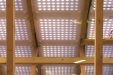 Environmental Building Partnership's Energyflo breathable insulation membrane