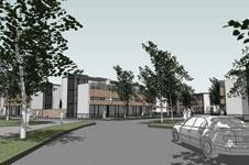 Milton Keynes housing scheme for Lagan Homes and Midsummer Housing Association
