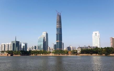 High finance: Wilkinson Eyre's 432m-tall Guangzhou international finance centre