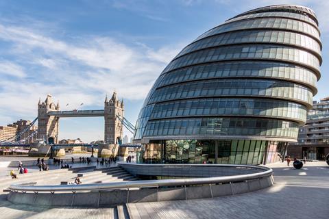 London City Hall Shutterstock_259489532