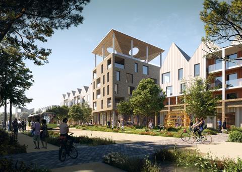 Urban Splash Northstowe Housing Project