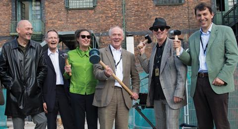 The Factory groundbreaking ceremony