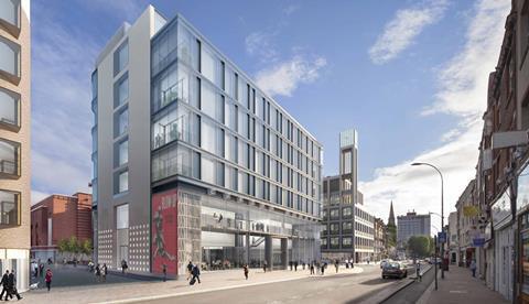 Lifschutz Davidson Sandilands' King Street in Hammersmith