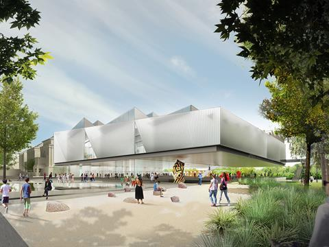 Diller Scofidio & Renfro's proposals for the Adelaide Contemporary gallery, drawn up with Woods Baggot