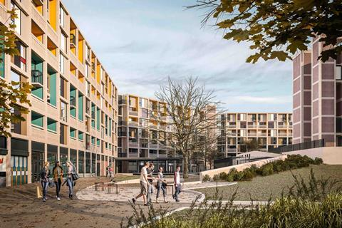 Whittam Cox's Park Hill student housing for Alumno, approved by Sheffield council