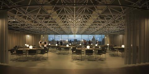 Science museum events space visual © mary duggan architects